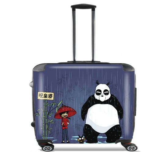 "My Neighbor Ranma for Wheeled bag cabin luggage suitcase trolley 17"" laptop"