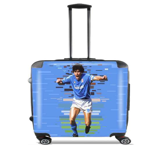 "Napoli Legend for Wheeled bag cabin luggage suitcase trolley 17"" laptop"