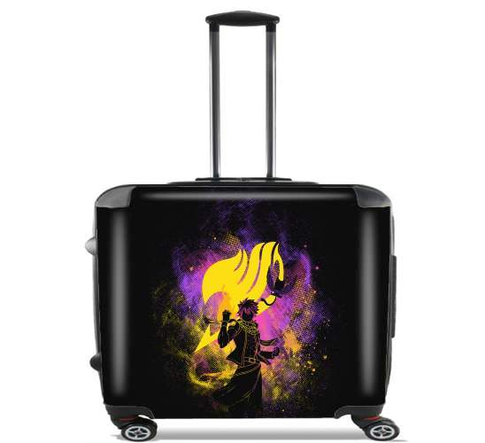 "Natsu Dragnir for Wheeled bag cabin luggage suitcase trolley 17"" laptop"