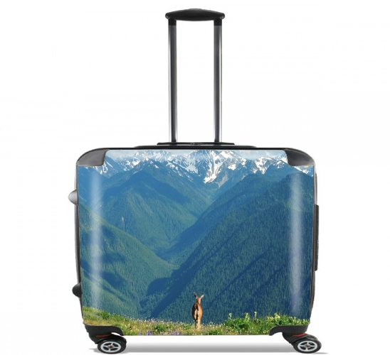 "Nature's Calling for Wheeled bag cabin luggage suitcase trolley 17"" laptop"