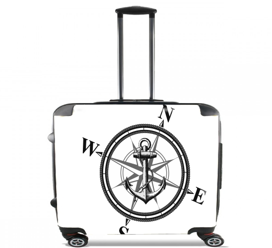 "Nautica for Wheeled bag cabin luggage suitcase trolley 17"" laptop"