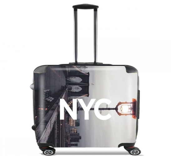 "NYC Basic 2 for Wheeled bag cabin luggage suitcase trolley 17"" laptop"