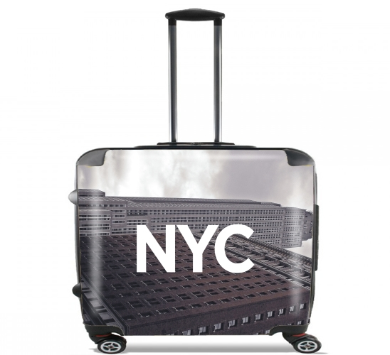 "NYC Basic 8 for Wheeled bag cabin luggage suitcase trolley 17"" laptop"
