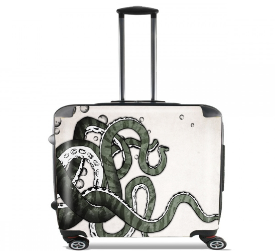 "Octopus Tentacles for Wheeled bag cabin luggage suitcase trolley 17"" laptop"
