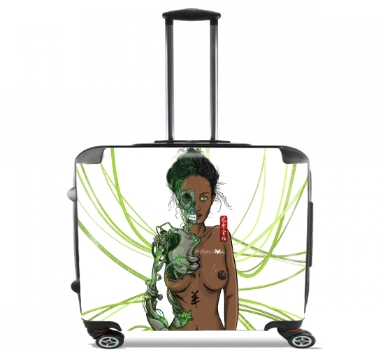 "Octopussy for Wheeled bag cabin luggage suitcase trolley 17"" laptop"