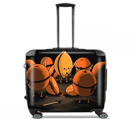 "Orange Kill Fruit for Wheeled bag cabin luggage suitcase trolley 17"" laptop"