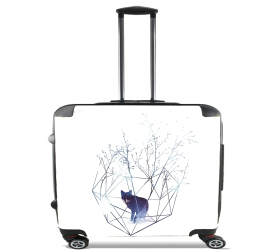 "Organic prison for Wheeled bag cabin luggage suitcase trolley 17"" laptop"