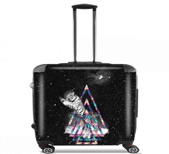 "Overnight for Wheeled bag cabin luggage suitcase trolley 17"" laptop"