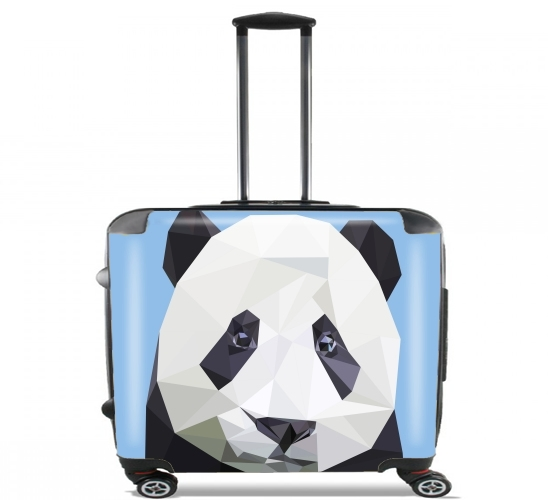 "panda for Wheeled bag cabin luggage suitcase trolley 17"" laptop"
