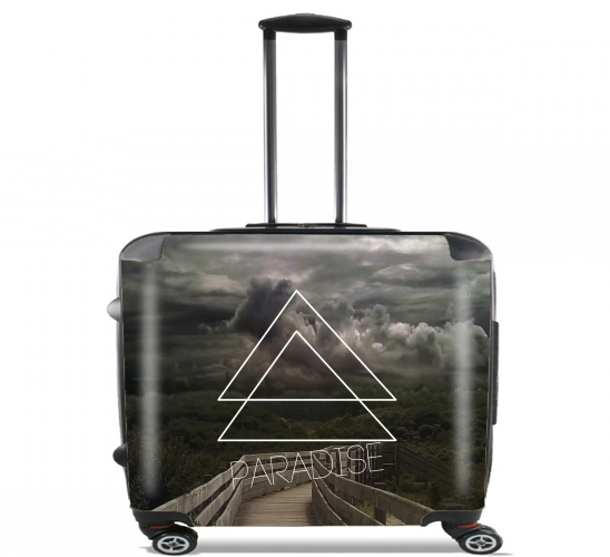 "paradise Reverse for Wheeled bag cabin luggage suitcase trolley 17"" laptop"
