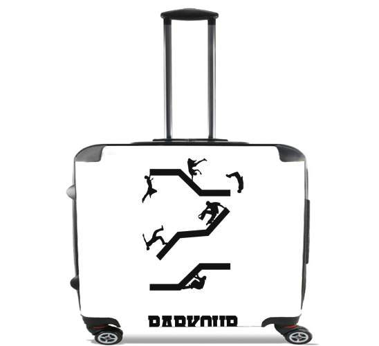 "Parkour for Wheeled bag cabin luggage suitcase trolley 17"" laptop"