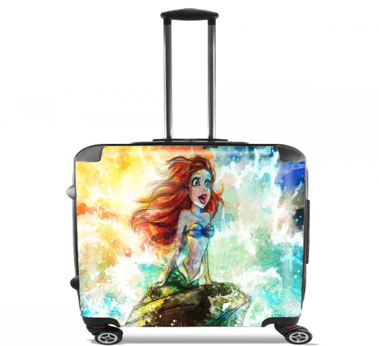 "Part of your world for Wheeled bag cabin luggage suitcase trolley 17"" laptop"