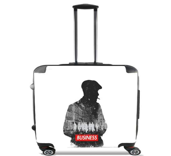 "peaky blinders for Wheeled bag cabin luggage suitcase trolley 17"" laptop"