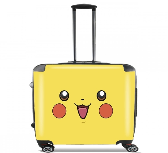 "pika-pika for Wheeled bag cabin luggage suitcase trolley 17"" laptop"