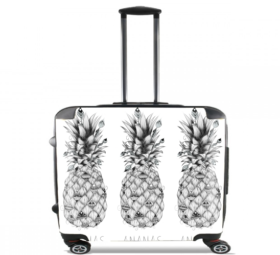 "PineApplle for Wheeled bag cabin luggage suitcase trolley 17"" laptop"