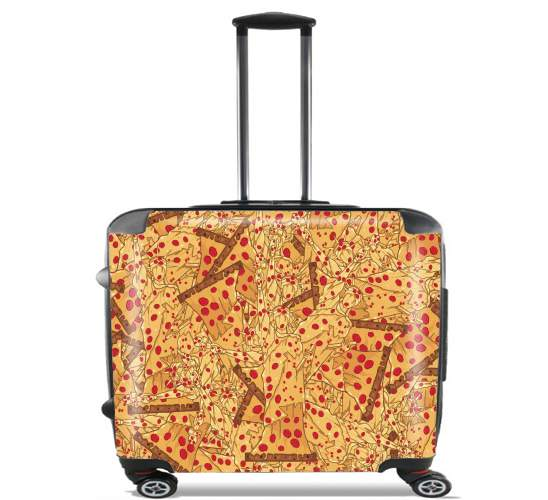"Pizza Liberty  for Wheeled bag cabin luggage suitcase trolley 17"" laptop"