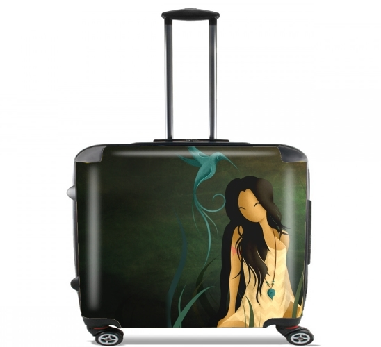"The Indian for Wheeled bag cabin luggage suitcase trolley 17"" laptop"