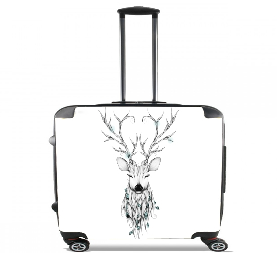"Poetic Deer for Wheeled bag cabin luggage suitcase trolley 17"" laptop"