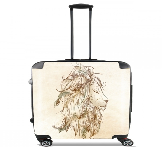 "Poetic Lion for Wheeled bag cabin luggage suitcase trolley 17"" laptop"
