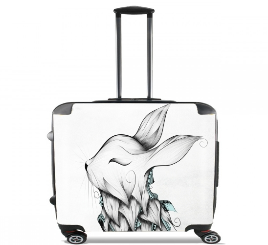 "Poetic Rabbit  for Wheeled bag cabin luggage suitcase trolley 17"" laptop"