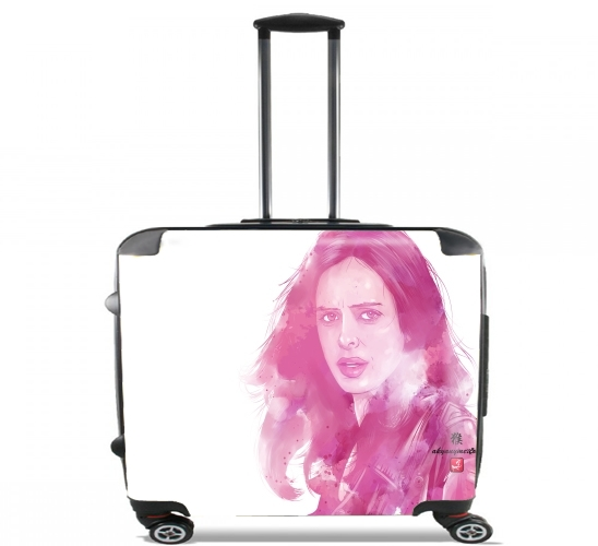 "Power Woman Jones for Wheeled bag cabin luggage suitcase trolley 17"" laptop"