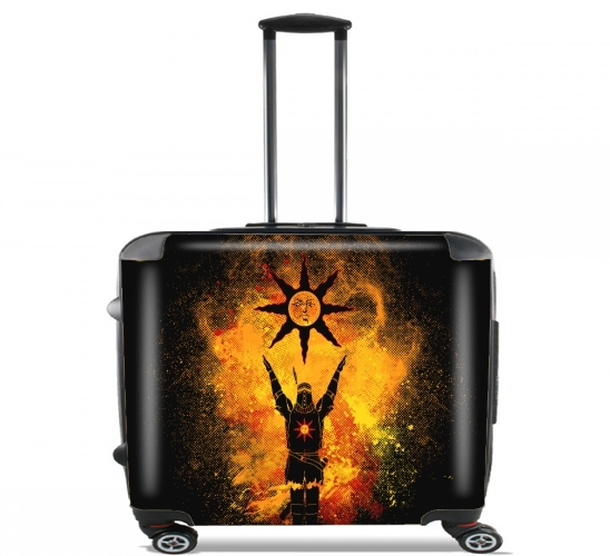"Praise the Sun Art for Wheeled bag cabin luggage suitcase trolley 17"" laptop"