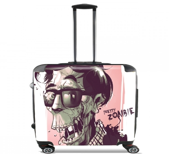 "Pretty zombie for Wheeled bag cabin luggage suitcase trolley 17"" laptop"