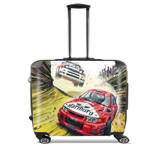 "Rallye for Wheeled bag cabin luggage suitcase trolley 17"" laptop"