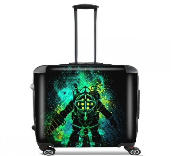 "Rapture Art for Wheeled bag cabin luggage suitcase trolley 17"" laptop"