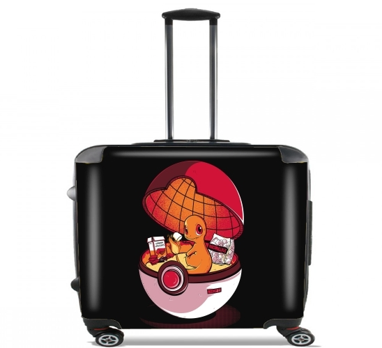 "Red Pokehouse  for Wheeled bag cabin luggage suitcase trolley 17"" laptop"