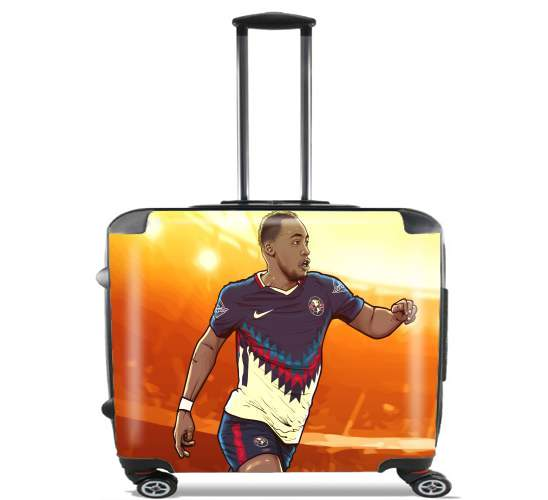 "Renato Ibarra Aguilas America for Wheeled bag cabin luggage suitcase trolley 17"" laptop"