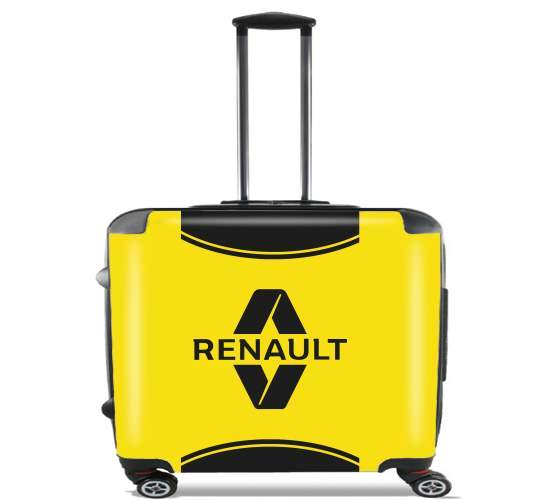 "Renault Sports for Wheeled bag cabin luggage suitcase trolley 17"" laptop"