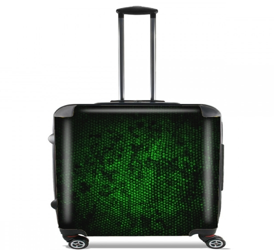 "Reptile Skin for Wheeled bag cabin luggage suitcase trolley 17"" laptop"