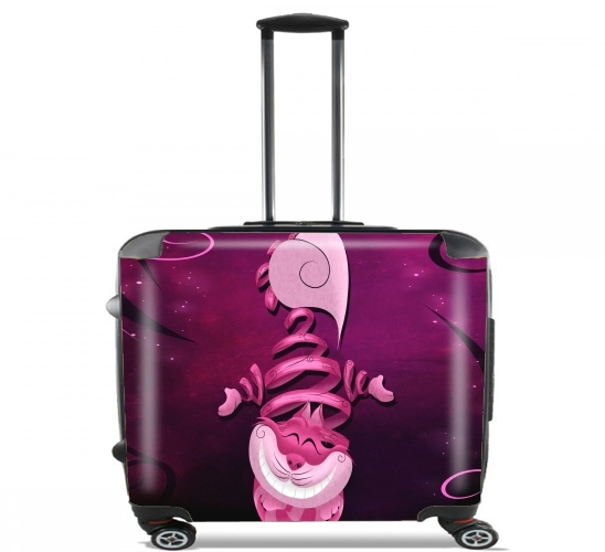 "Ribbon Cat for Wheeled bag cabin luggage suitcase trolley 17"" laptop"