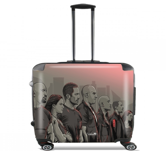 "Ride or die, remember? for Wheeled bag cabin luggage suitcase trolley 17"" laptop"