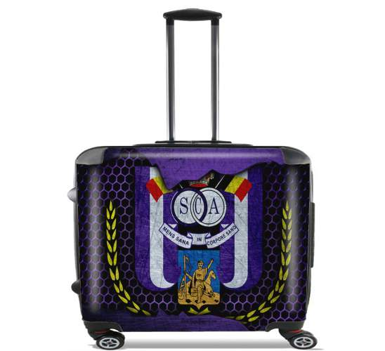 "RSC Anderlecht Kit for Wheeled bag cabin luggage suitcase trolley 17"" laptop"