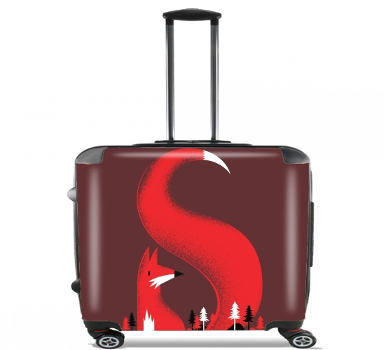 "S like Fox for Wheeled bag cabin luggage suitcase trolley 17"" laptop"