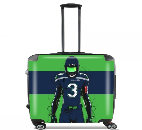 "SB L Seattle for Wheeled bag cabin luggage suitcase trolley 17"" laptop"