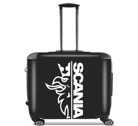 "Scania Griffin for Wheeled bag cabin luggage suitcase trolley 17"" laptop"