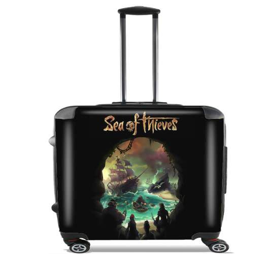 "Sea Of Thieves for Wheeled bag cabin luggage suitcase trolley 17"" laptop"