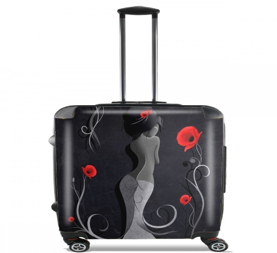 "Sensual Victoria for Wheeled bag cabin luggage suitcase trolley 17"" laptop"