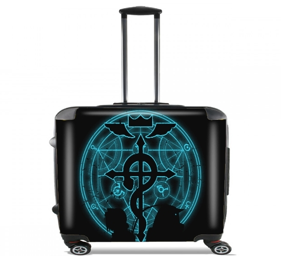 "Shadow  of Alchemist for Wheeled bag cabin luggage suitcase trolley 17"" laptop"