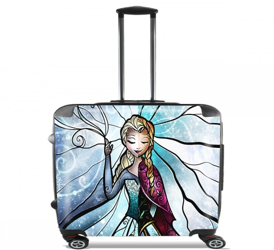 "Sisterly Love for Wheeled bag cabin luggage suitcase trolley 17"" laptop"