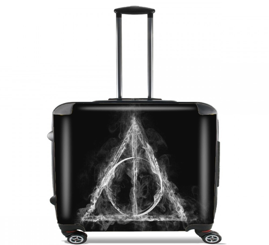 "Smoky Hallows for Wheeled bag cabin luggage suitcase trolley 17"" laptop"
