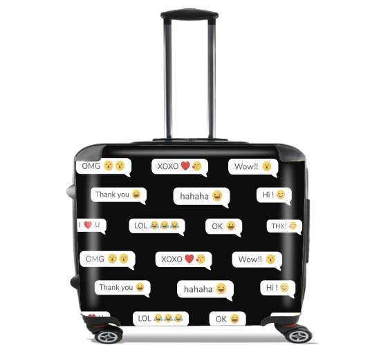 "SMS for Wheeled bag cabin luggage suitcase trolley 17"" laptop"
