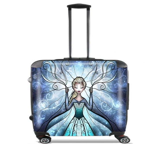 "The Snow Queen for Wheeled bag cabin luggage suitcase trolley 17"" laptop"