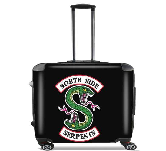"South Side Serpents for Wheeled bag cabin luggage suitcase trolley 17"" laptop"