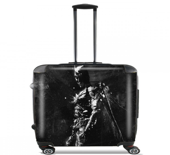"Splash Of Darkness for Wheeled bag cabin luggage suitcase trolley 17"" laptop"