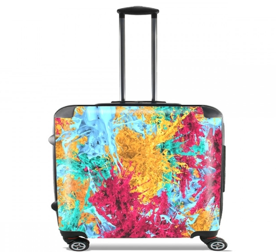 "Splash for Wheeled bag cabin luggage suitcase trolley 17"" laptop"