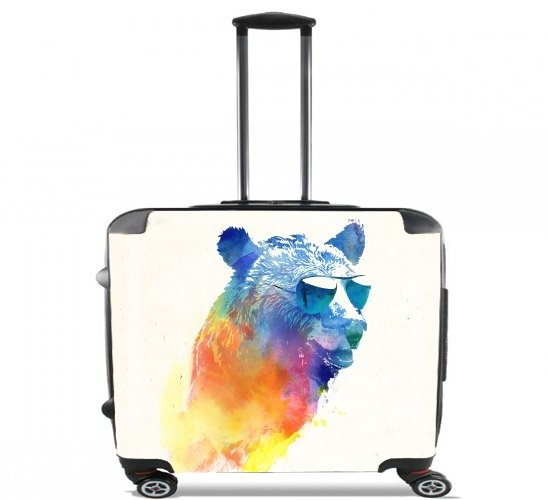 "Sunny Bear for Wheeled bag cabin luggage suitcase trolley 17"" laptop"